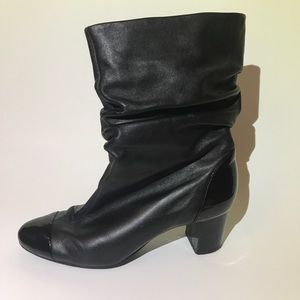 Authentic Leather Booties - Nine West Mikor